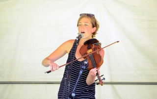 Awesome fiddle music at Valley Stage Music Festival Huntington Vermont