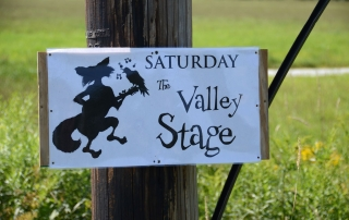This way to the Valley Stage Music Festival Huntington Vermont
