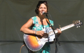 May Erlewine at Valley Stage Music Festival in Huntington Vermont